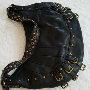 Wilsons Leather Edgy Hobo Style Purse